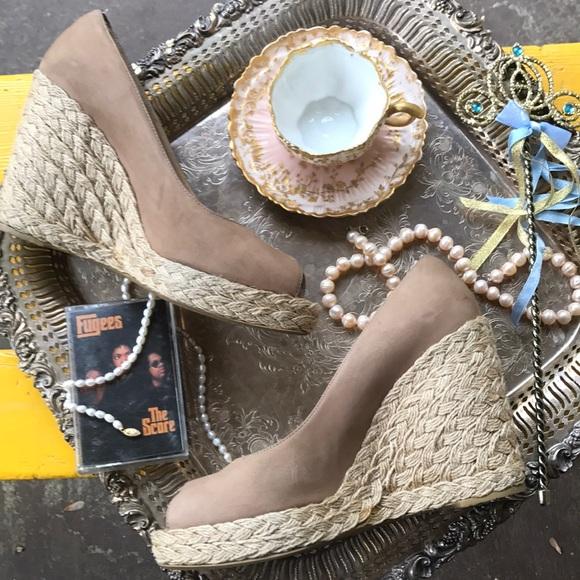 Stuart Weitzman Wedge Sandals